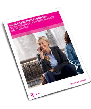 Flyer zu Mobile Enterprise Services