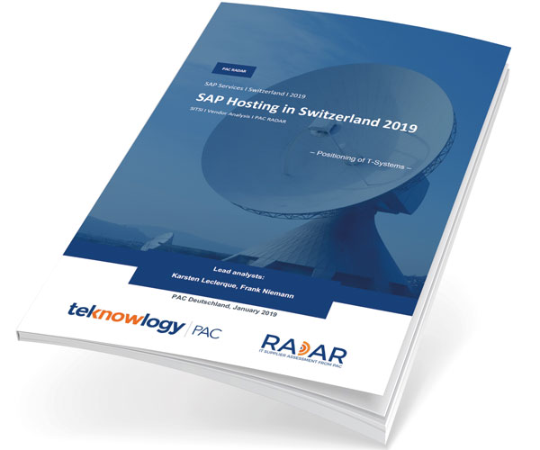 PAC Radar SAP-Hosting in der Schweiz 2019