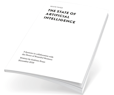 The state of artificial intelligence - jetzt Whitepaper herunterladen!